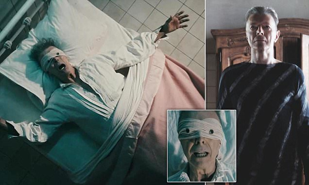 David Bowie, turning his death into art.